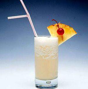 Cocktail Amaretto Colada