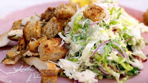 Bucataria lui Jamie - Chicken Caesar Salad