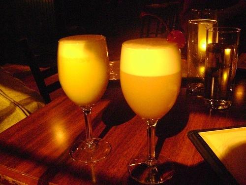 Boston Flip cocktail