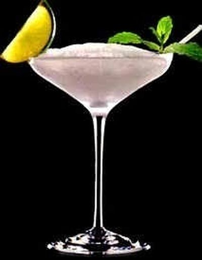 Cocktail Frozen Purple