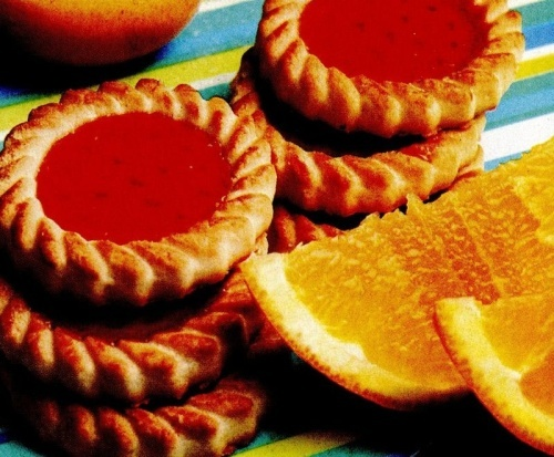 Tarte cu portocale