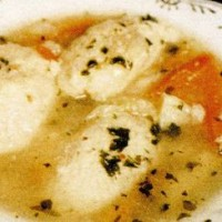 Supa cu galuste (fara gluten)