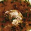 Ciorba cu carne afumata de iepure