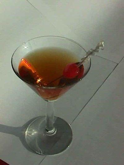 Cocktail Manhattan Sweet