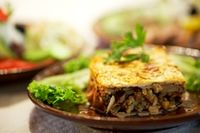 Moussaka - traditional Bulgarian food