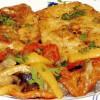 Peşte pane cu legume de vară