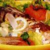 Rasol de peşte cu piure de cartofi si morcovi
