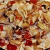Salată de pui cu ciuperci si gogoşari in oţet