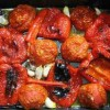Salată de ardei prăjiţi