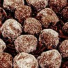 Bulgăraşi de ciocolată cu vişine din compot