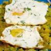 Mâncare de dovleac cu ouă ochiuri