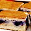 Prăjitură cu afine si cremă de smantană