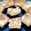 Prăjitură cu cremă de vanilie si bezea