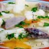 Supă de limbă şi conopidă