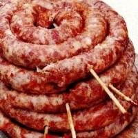 Curatirea intestinelor de porc si topirea grasimii