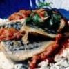 File de macrou cu sos de roşii