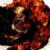 Friptură de porc cu legume şi boabe de porumb