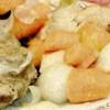 Macaroane cu legume si carne de porc