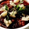 Manacare de conopidă cu ghimbir si pudră de curry
