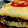 Musaca de cartofi cu zacuscă de ghebe