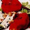 Pere în vin roşu