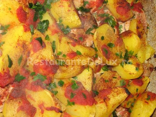 Garnitura de cartofi