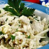 Salată de ţelină cu pui şi măr