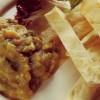 Salată de vinete cu chimen şi lipie