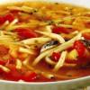 Supă de gogoşari la oţet cu tăieţei