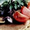 Blinii cu salată de legume