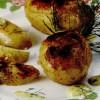 Cartofi copţi cu sos de muştar