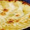 Cartofi franţuzeşti cu ouă, smantana si pesmet