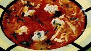 Tarhana cu sos de peste