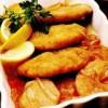 Parjoale de peşte in sos de ceapă