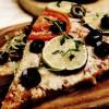 Pizza cu carne tocată de pui
