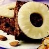 Prăjitură cu ananas, migdale si miere