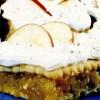 Prăjitură cu biscuiţi, mere şi frişcă