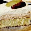 Prăjitură cu prune şi frişcă