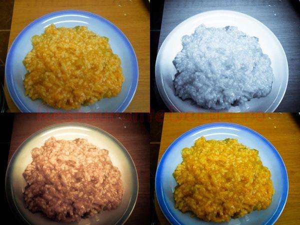 Praz cu orez şi suc de roşii