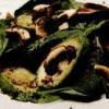 Salată caldă de spanac