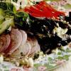 Salată cu paste, brânză şi măsline