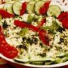 Salata cu legume, mar si maioneza