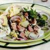 Salata cu oua si salam
