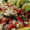 Salată de orez cu ardei si ton