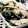 Salată de spanac cu somon