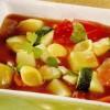 Ciorba de legume cu suc de rosii si paste