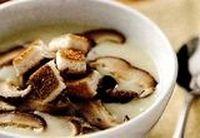 Ciulama de ciuperci cu lapte si marar
