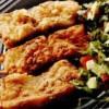 File de salau pane cu salata