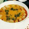 Supa crema de usturoi cu rosii
