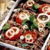 Carne tocată cu roşii la cuptor